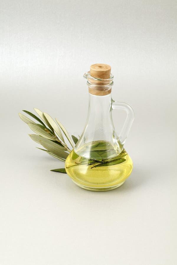Download Olive Oil Bottle Silver Background Stock Photo - Image: 16548632