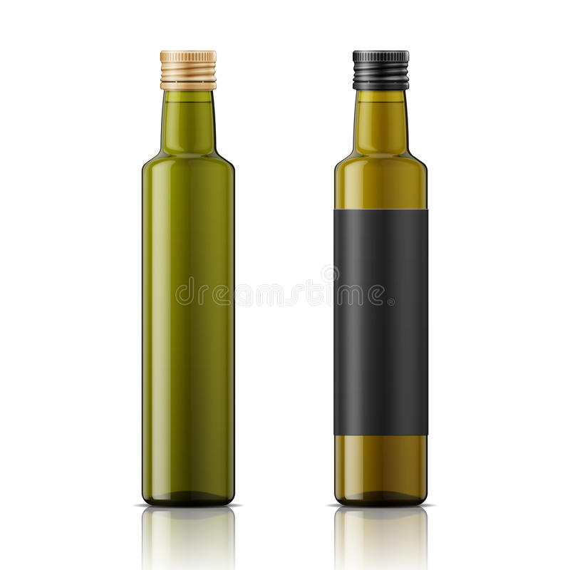 Free Olive Oil Bottle Template With Cap Royalty Free Stock Photos - 60768108
