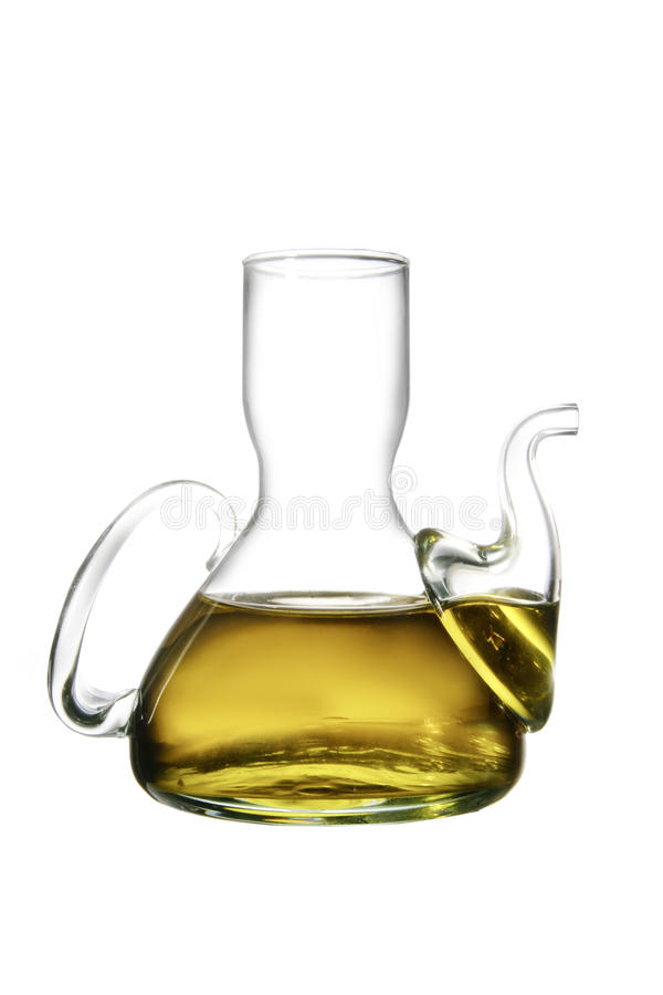 Olive oil can royalty free stock images