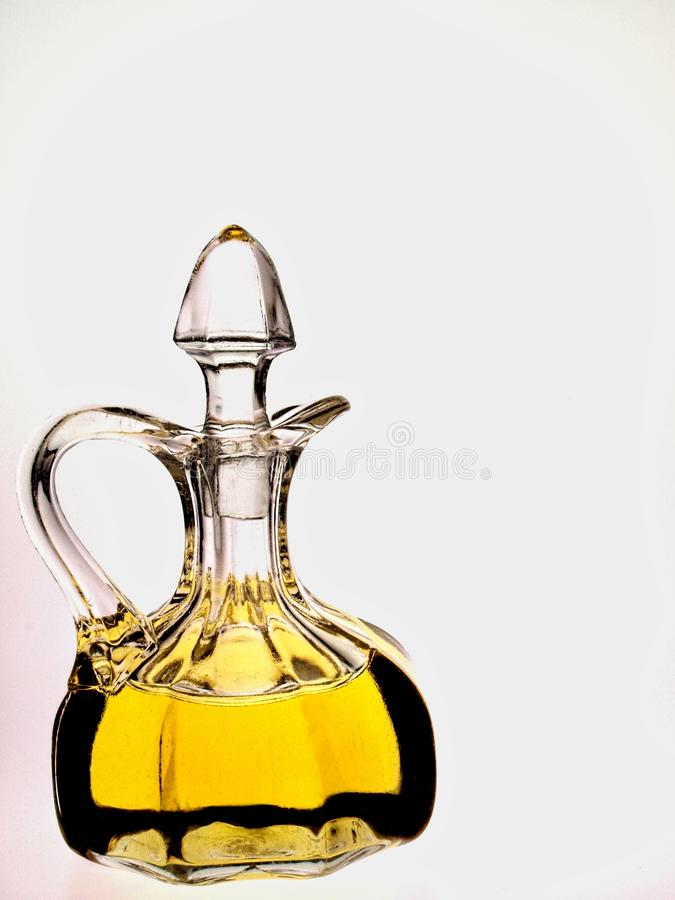 Olive Oil Cruet royalty free stock image