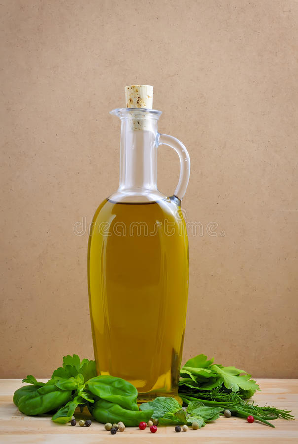 Download Olive Oil And Herbs Royalty Free Stock Photo - Image: 18383775