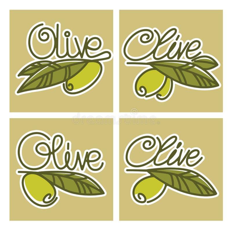 Olive stock vector. Illustration of biological, brunch - 66401102