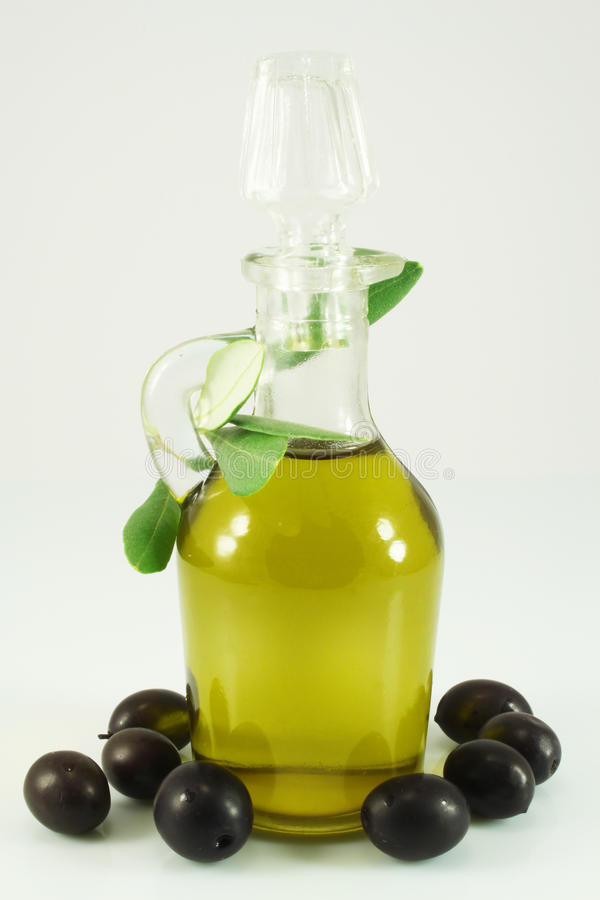 Download Olive Oil, Olives And Branch Stock Photo - Image: 15811800