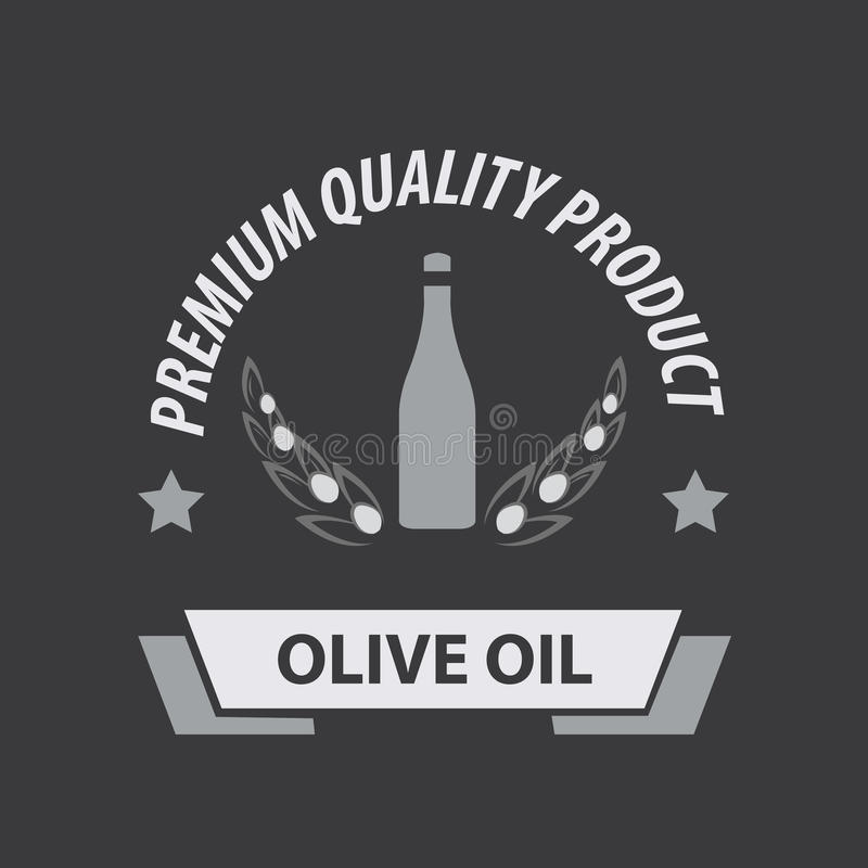 Olive Oil Premium Quality libre illustration