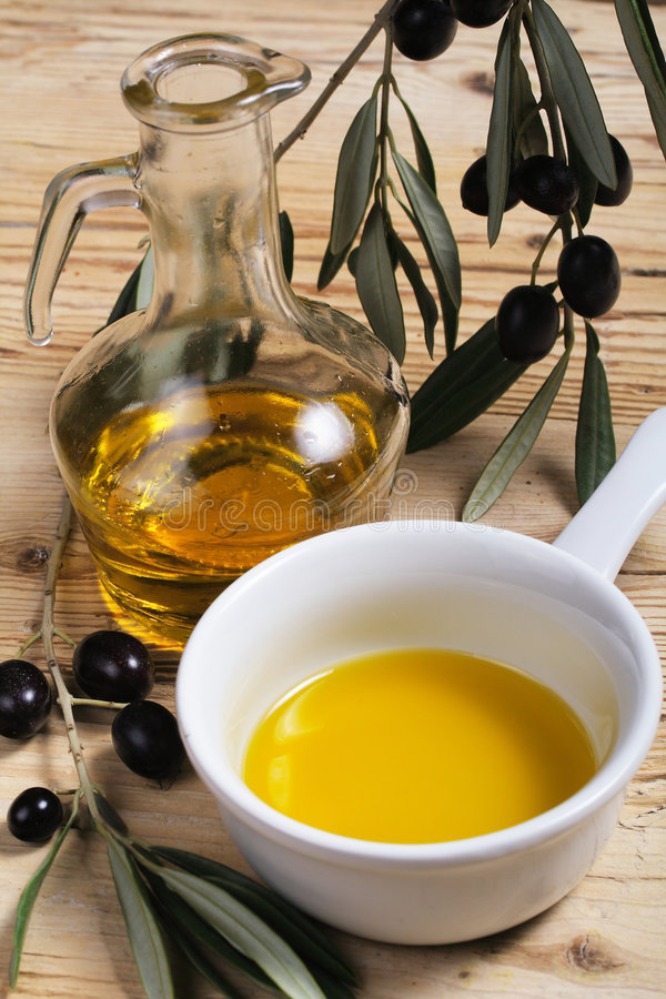 olive oleju zdjęcie stock