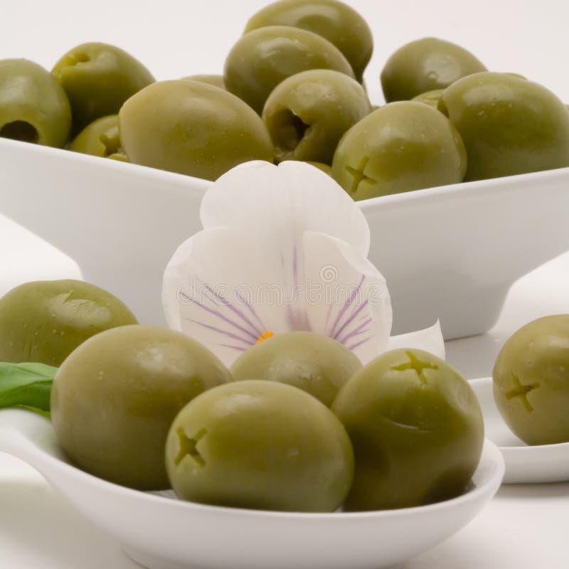 olive przystawki obrazy stock