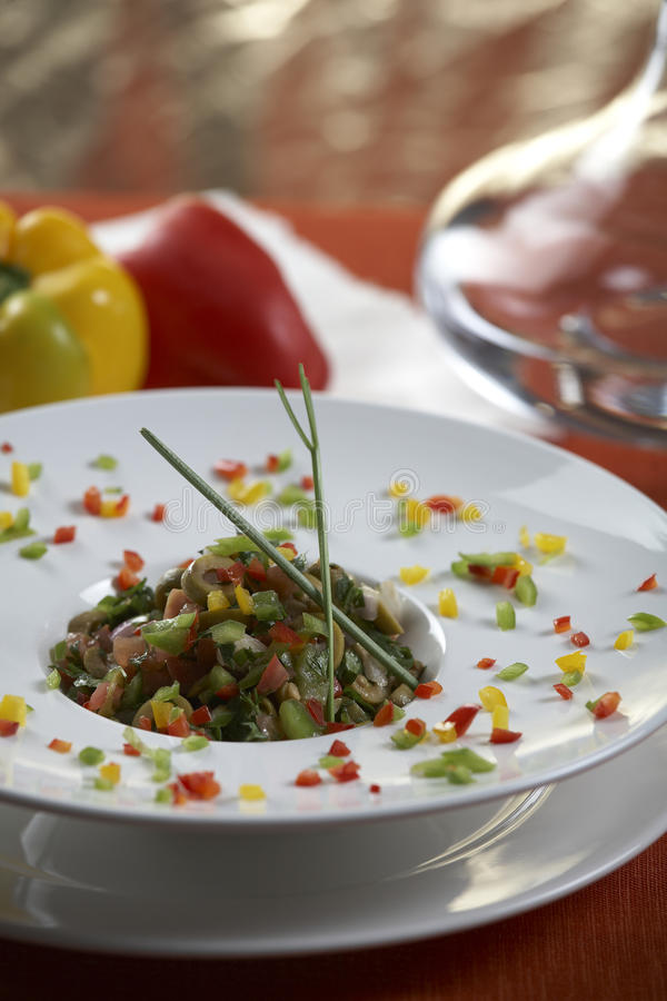 Free Olive Salad Royalty Free Stock Images - 17264369