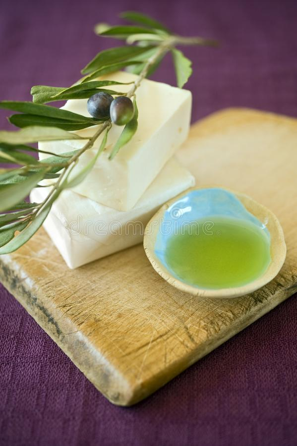 Olive Soap Free Stock Photo
