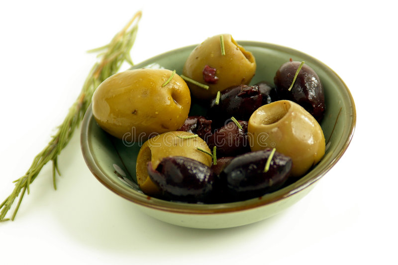 Olive treat royalty free stock photo