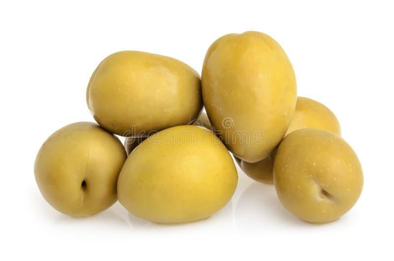 Olive verdi isolate immagini stock libere da diritti