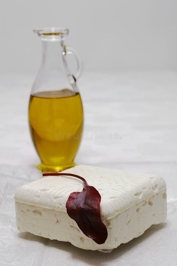olive white för ostolja arkivfoton
