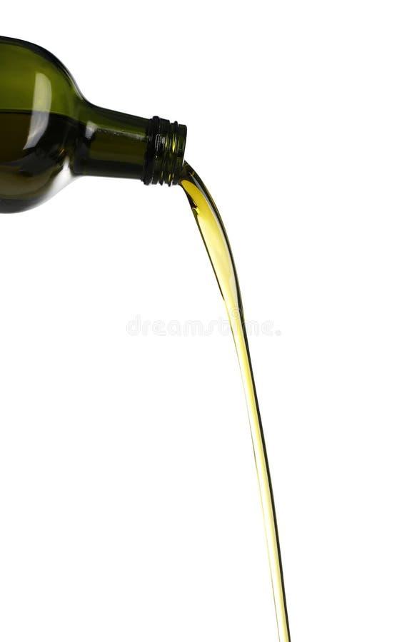 olive wylewać oleju obraz royalty free