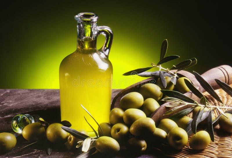 Olivenöl 1 lizenzfreies stockfoto