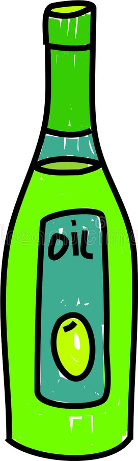 Olivenöl vektor abbildung