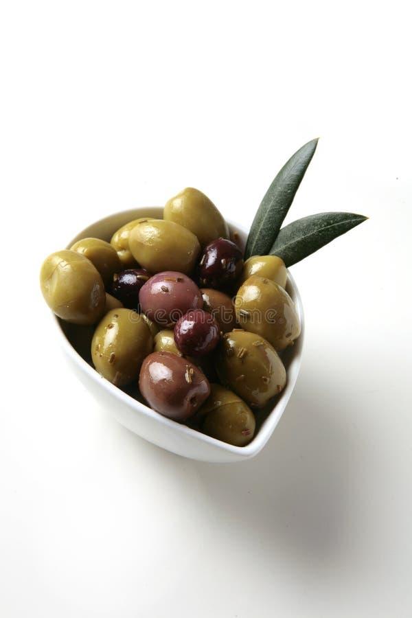 Oliven Tapas lizenzfreies stockfoto