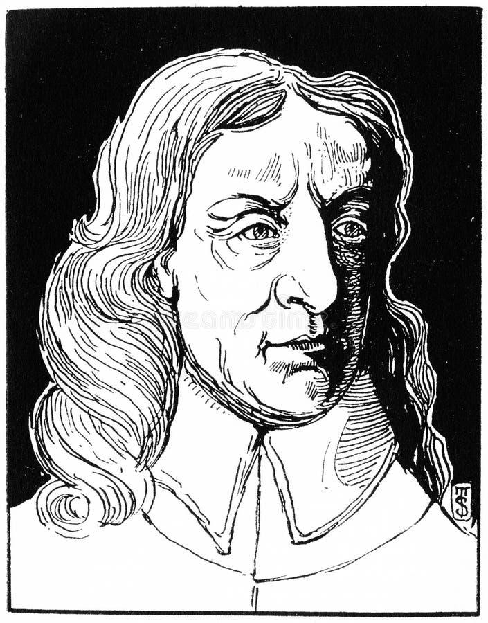 Oliver Cromwell, leader militare e politico inglese fotografia stock libera da diritti