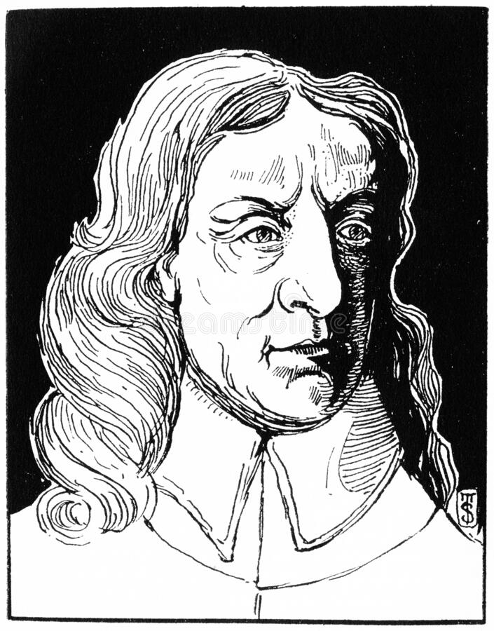 Oliver Cromwell, militar y líder político inglés foto de archivo libre de regalías