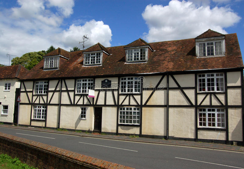 Oliver Cromwell's House, Alton, Hampshire. An historic building associated with the English Civil War leader of the 17th century, Oliver Cromwell. The building royalty free stock image