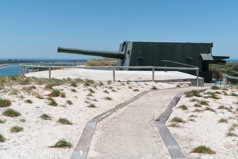 Oliver Hill, Rottnest-Eiland, Westelijk Australië royalty-vrije stock fotografie