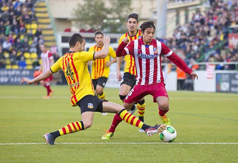 Oliver Torres Of Atletico De Madrid Editorial Stock Photo