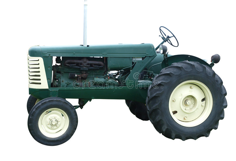 oliver traktor 1956 royaltyfri fotografi