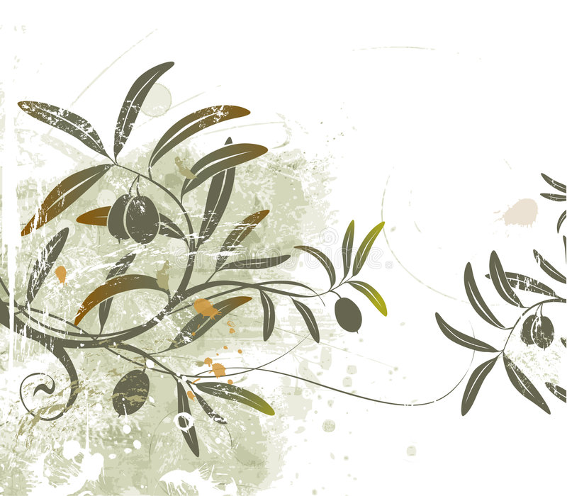 Olives illustration de vecteur