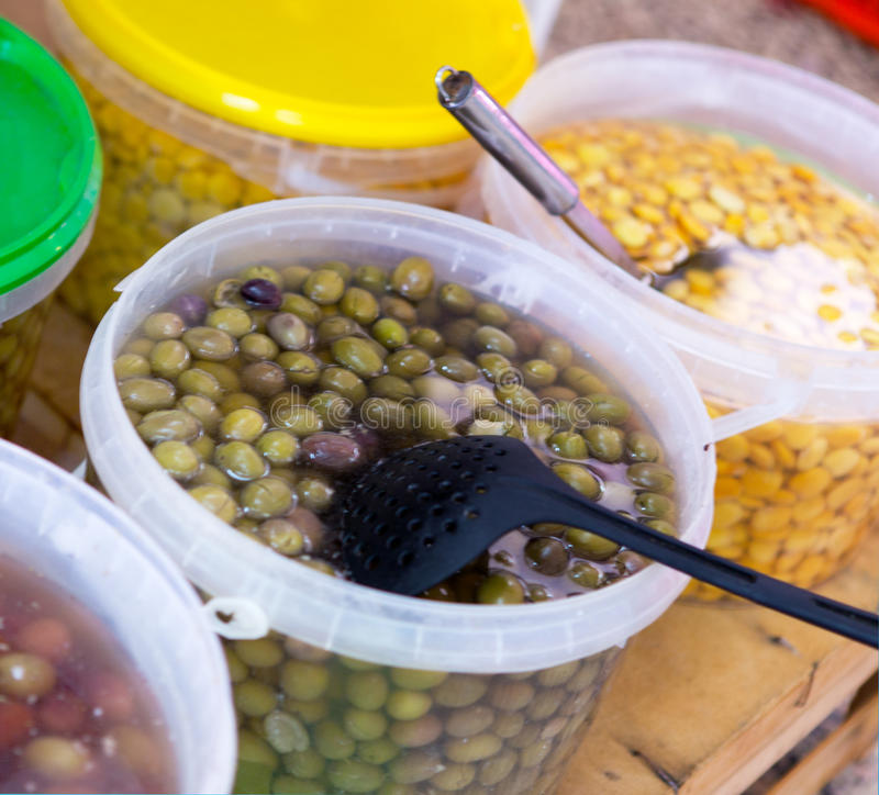 Olives royalty free stock photo