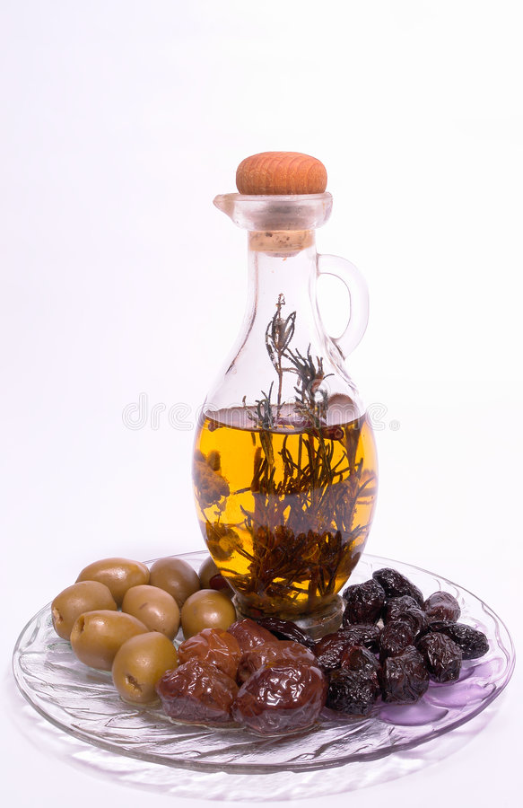Olives grecques photo libre de droits