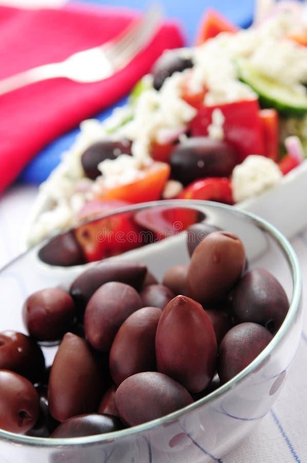 Download Olives And Greek Salad Royalty Free Stock Image - Image: 4785236