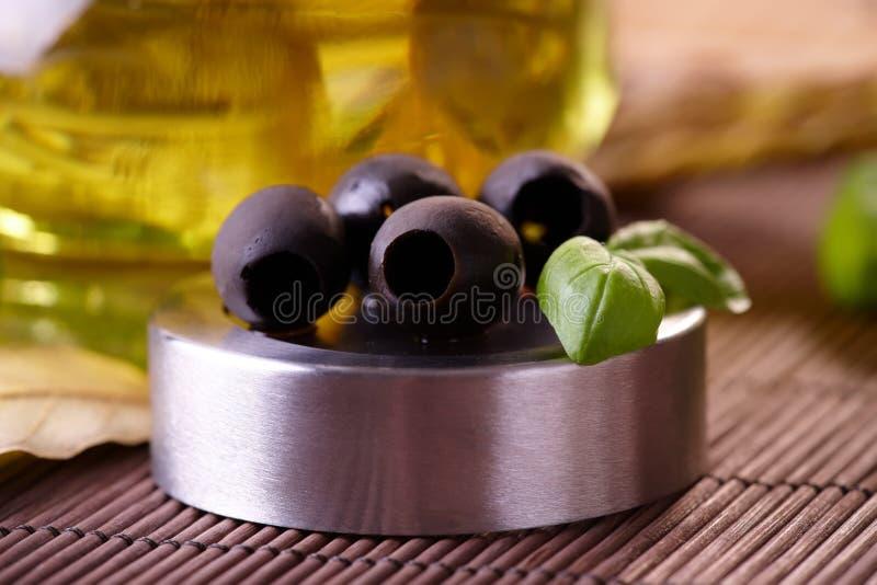 Olives noires photo libre de droits