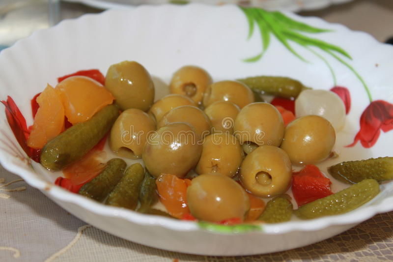 Olives royalty free stock photo
