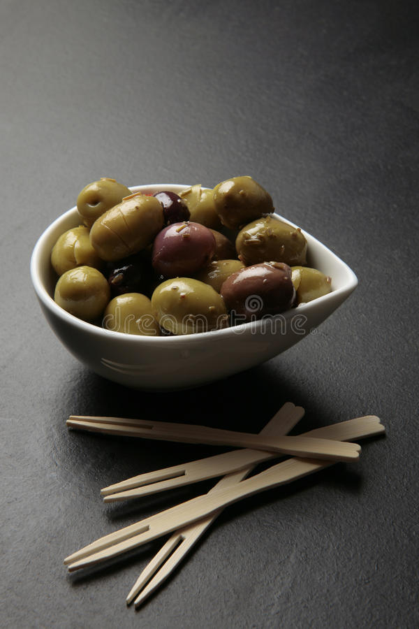 Download Olives tapas snack stock image. Image of tapas, andalusia - 12700703