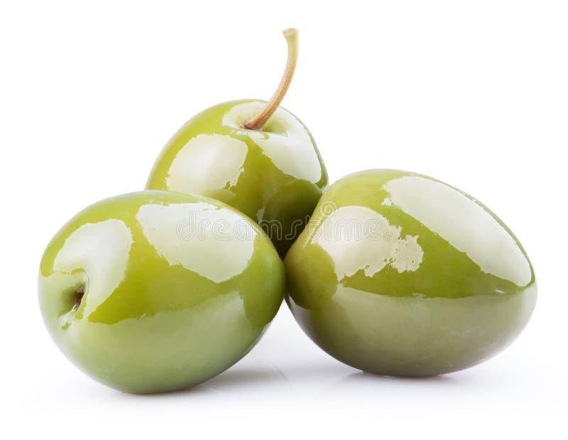 olives vertes fraîches photographie stock libre de droits