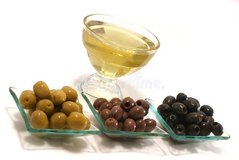 olivgrön för guldoljeolivgrön royaltyfri bild