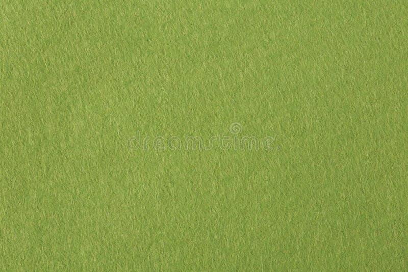 Olivgrön filtbakgrund för textur arkivfoto