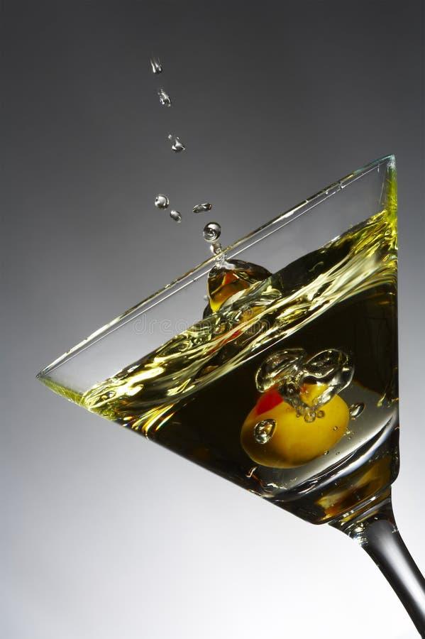 Olivgrünes Spritzen stockfotografie