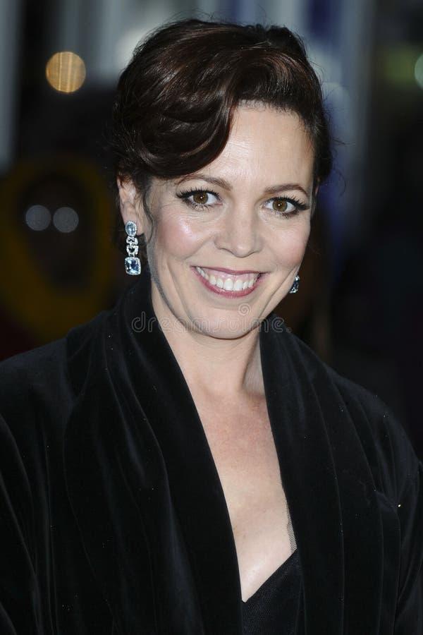 Olivia Colman stock image