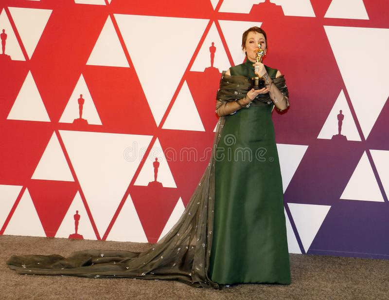 Olivia Colman photo stock
