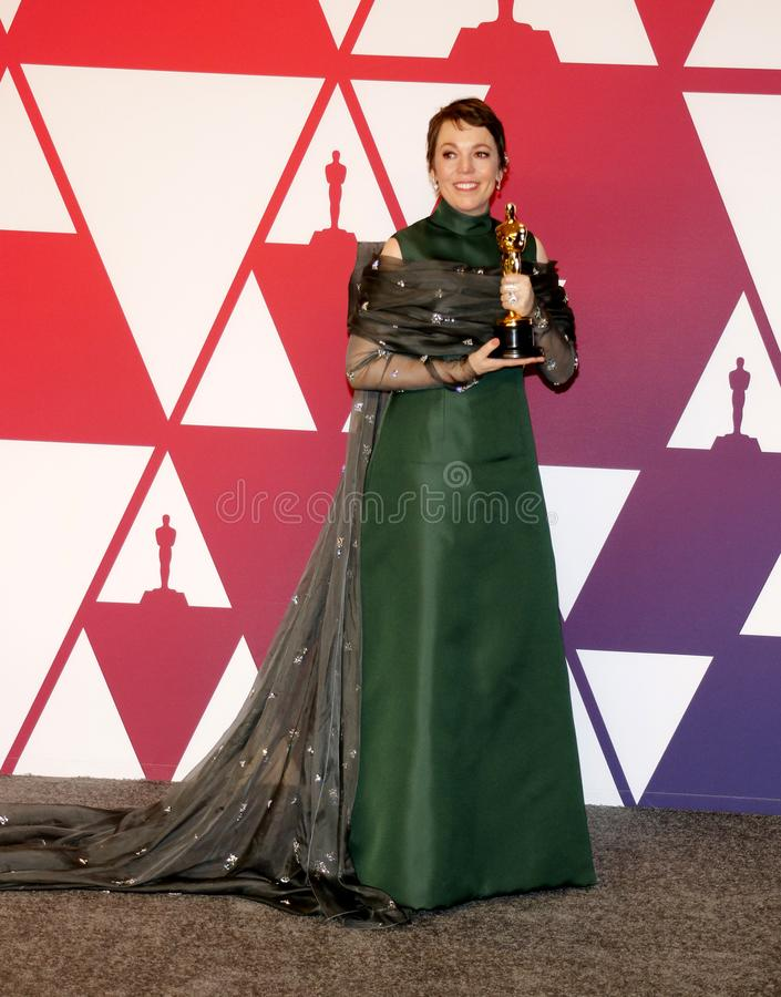 Olivia Colman fotos de stock royalty free