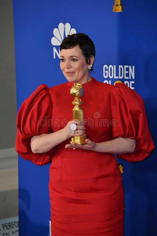 Olivia Colman royalty free stock images