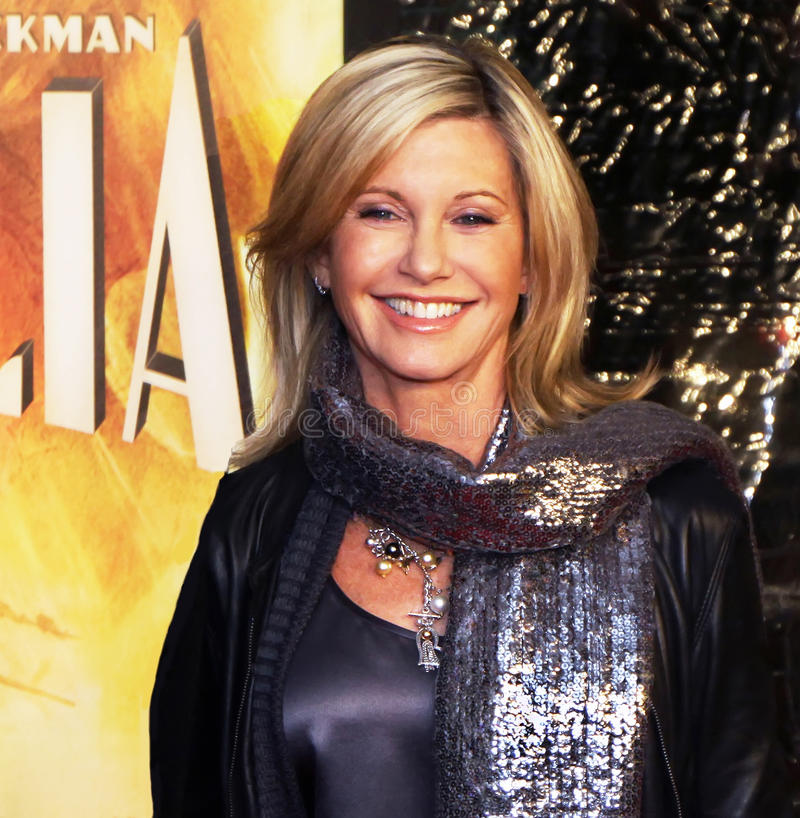 Olivia Newton-John stock photos