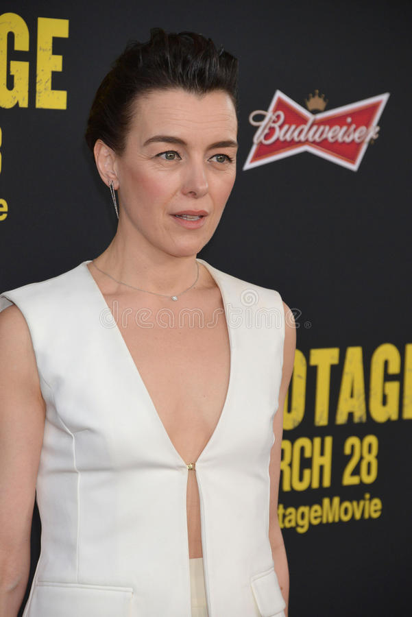 Olivia Williams stock afbeelding