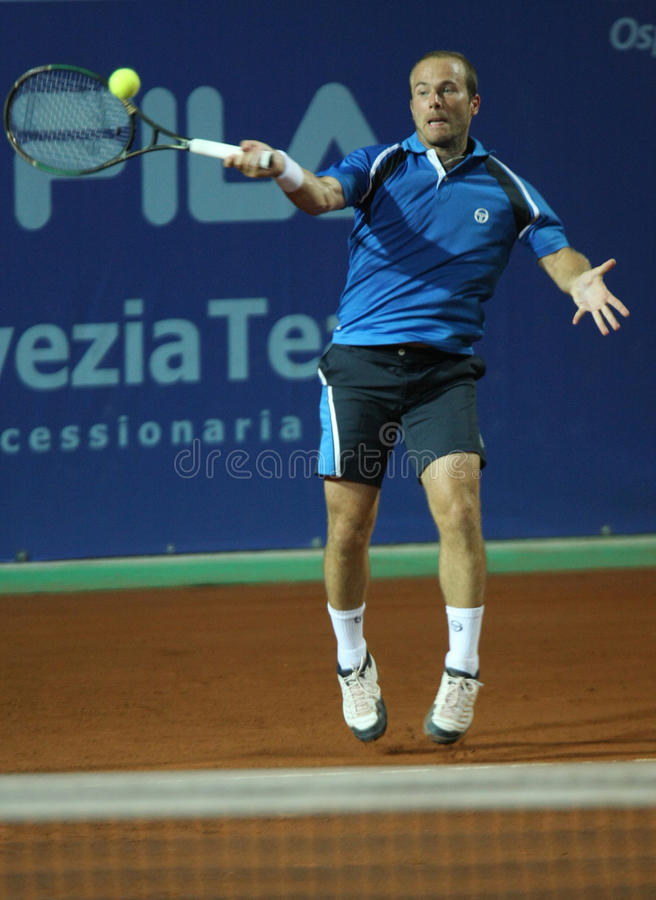 OLIVIER ROCHUS, ATP TENNIS PLAYER royalty free stock images