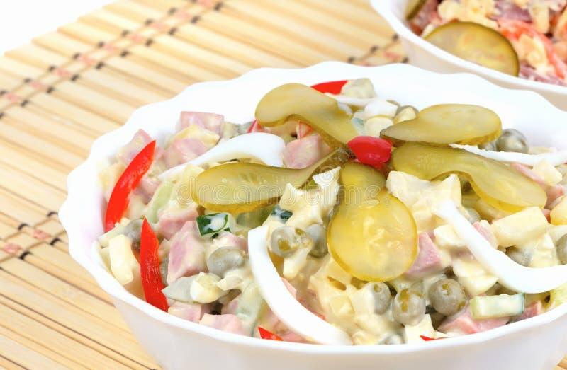 Olivier salad royalty free stock image