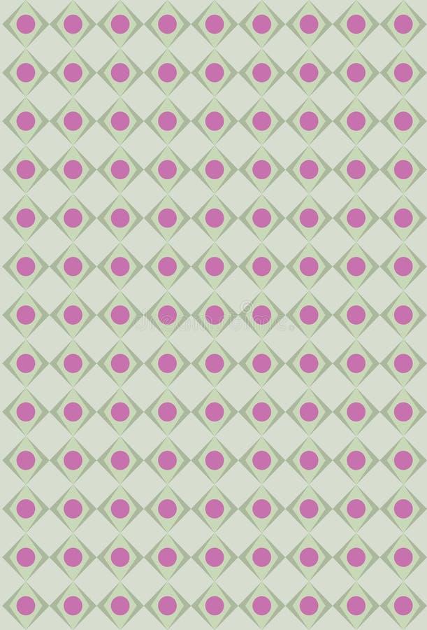 oliwki różowią rhombus teksturę ilustracji