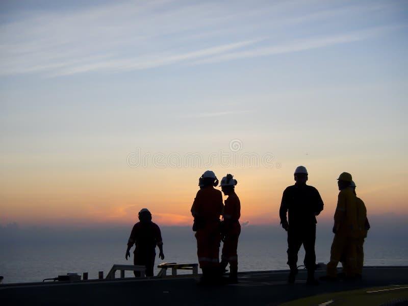 olja för gasindustri royaltyfri bild