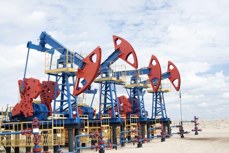 olja för gasindustri arkivbilder