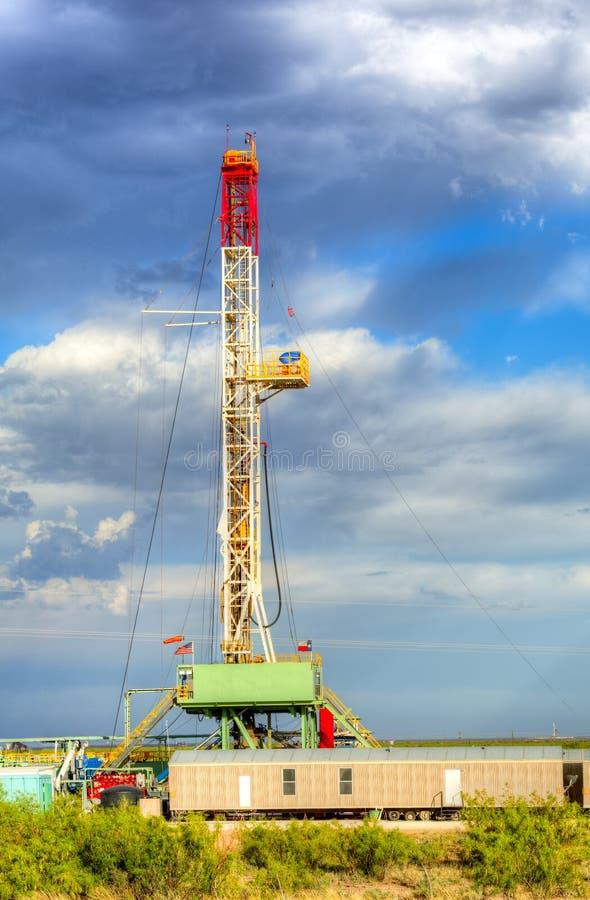 Olje- drillborr royaltyfri fotografi