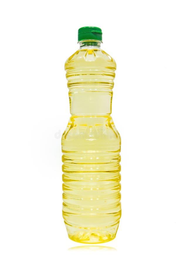 Olje- flaska royaltyfri fotografi