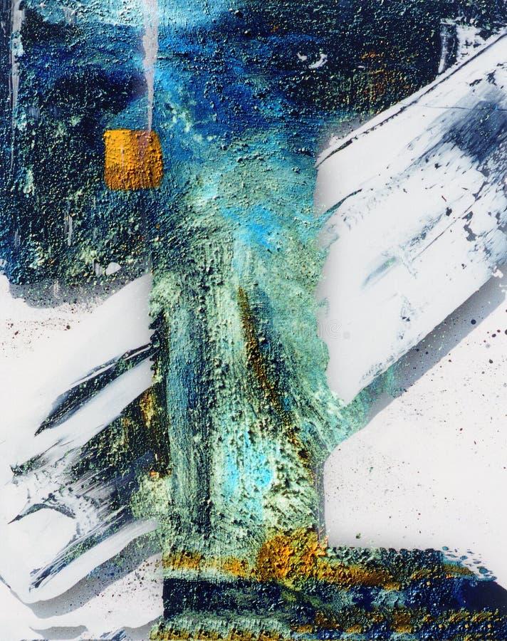Olje- målning arkivbild